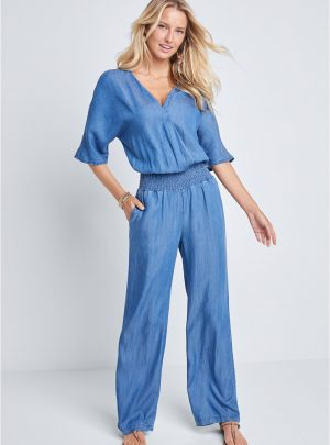Lascana Chambray Jumpsuit